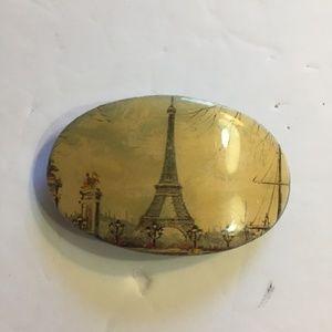Vintage Paris Eiffel Tower Hair Barrette